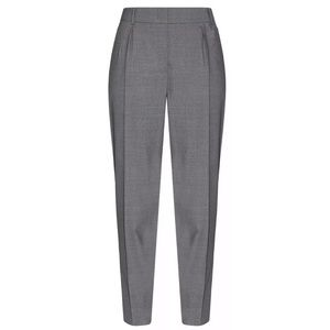 New Max Mara Studio Gray Papy Trousers Pant Size 8